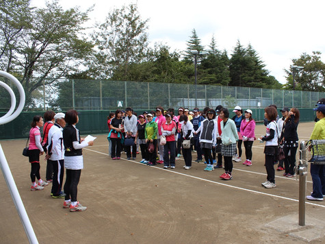 新座市民総合体育大会硬式テニスの部女子一般