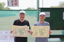 新座市民総合体育大会硬式テニスの部一般男子(初級)