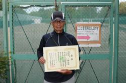 新座市民総合体育大会硬式テニスの部男子(over65)