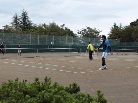 新座市民総合体育大会硬式テニスの部 男・女ダブルスベテラン