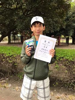 春季シングルス大会一般男子中級コンソレ