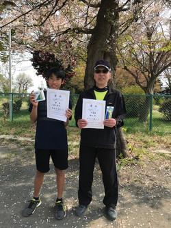 春季シングルス大会 一般男子初級コンソレーション