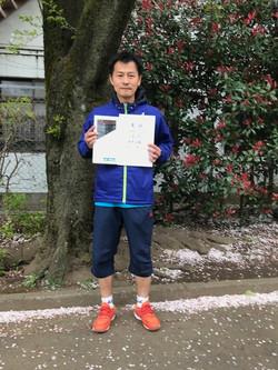春季シングルス大会 一般男子中級