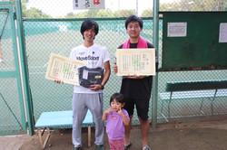 新座市民総合体育大会硬式テニスの部一般男子(上級)