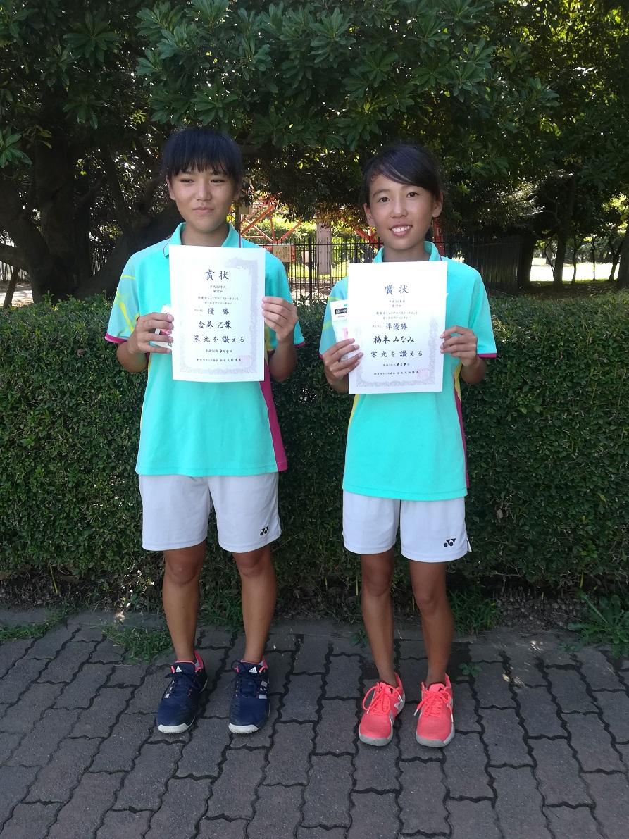 ジュニアテニストーナメント(女子中学生の部)