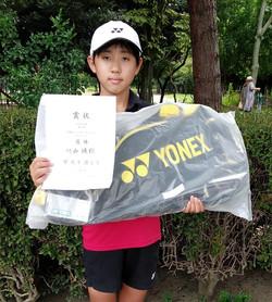 優 勝:川西 瑛翔くん(Team Satellite 野火止)