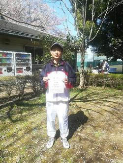 春季シングルス大会 男子OVER55コンソレーション
