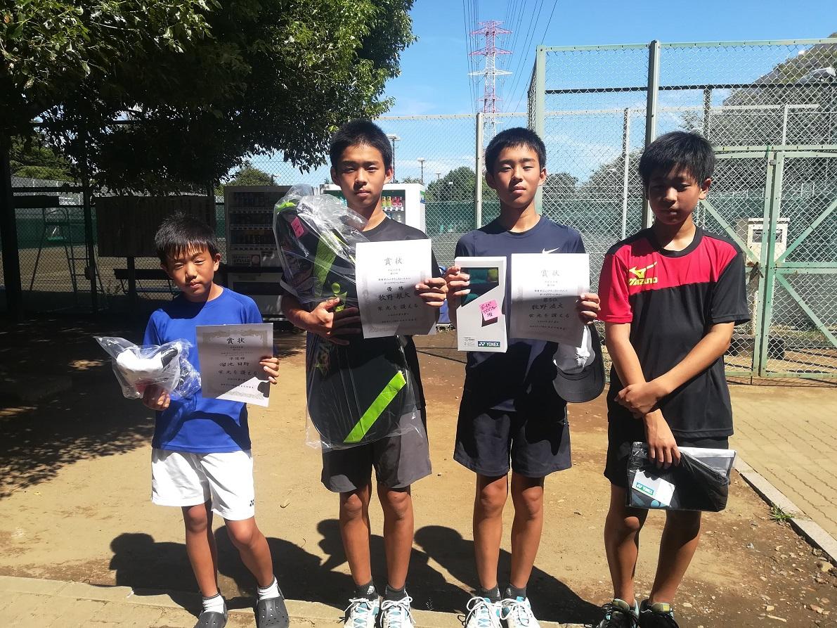 ジュニアテニストーナメント(男子中学生の部)