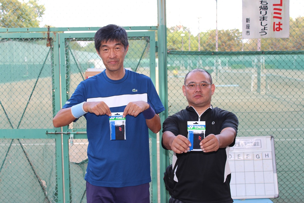 新座市民総合体育大会硬式テニスの部一般男子(中級)コンソレーション