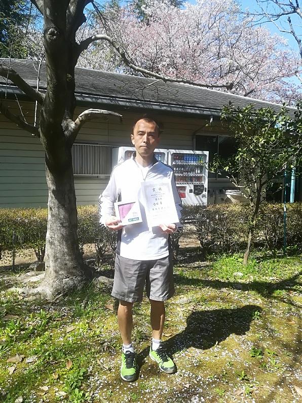 春季シングルス大会 男子OVER45