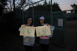 2020年度市民総合体育大会硬式テニス一般女子上級の部