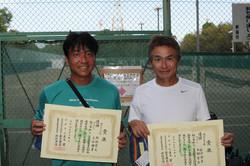 新座市民総合体育大会硬式テニスの部男子(over45)