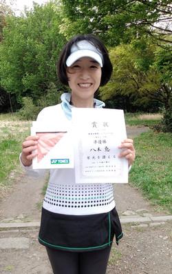 春季シングルス大会一般女子中級