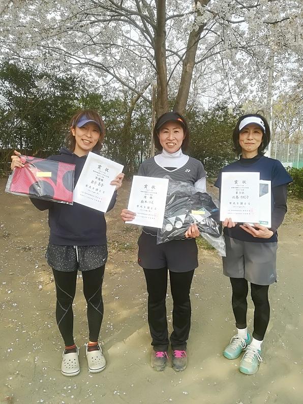 春季シングルス大会・一般女子初級