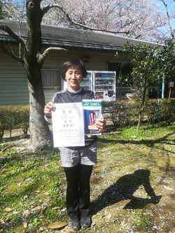 春季シングルス大会 女子OVER50
