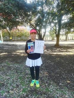 春季シングルス大会 女子OVER40