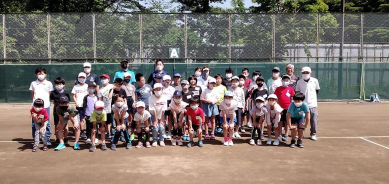 2021年度第一期ジュニアテニス教室