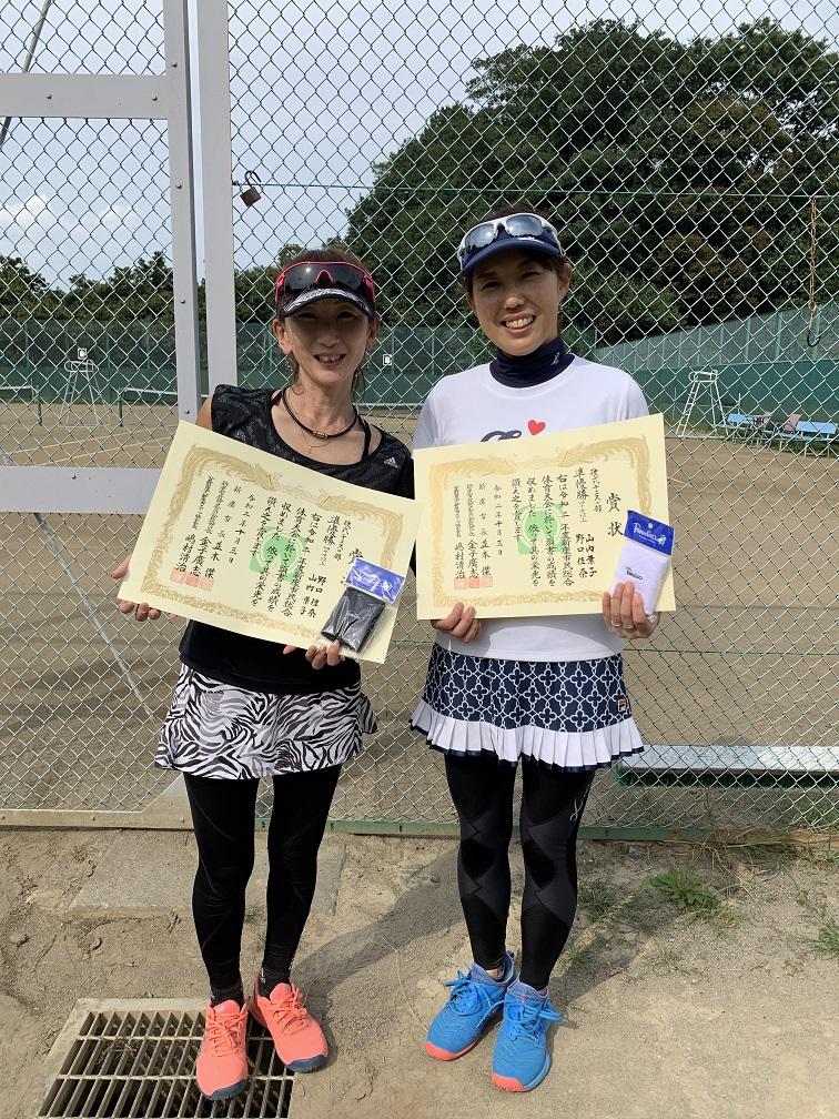 2020年度市民総合体育大会硬式テニスOVER40の部