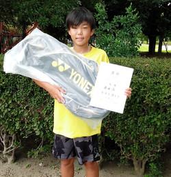 優 勝:藤田 湊くん(新座ローンTC)