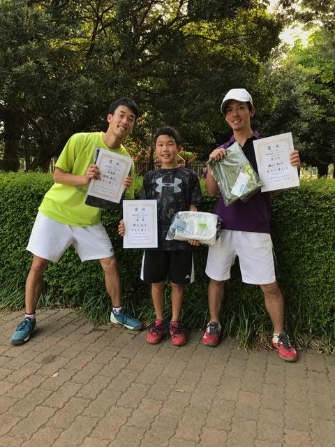 春季シングルス 一般男子中級