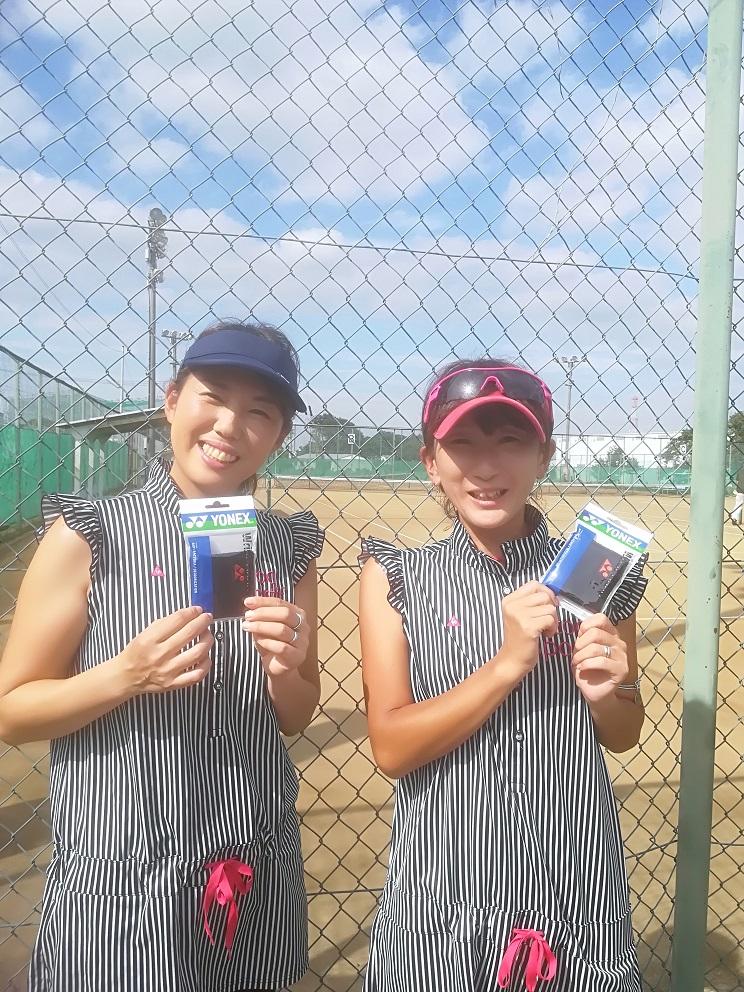 新座市民総合体育大会硬式テニスの部一般女子(上級)コンソレーション