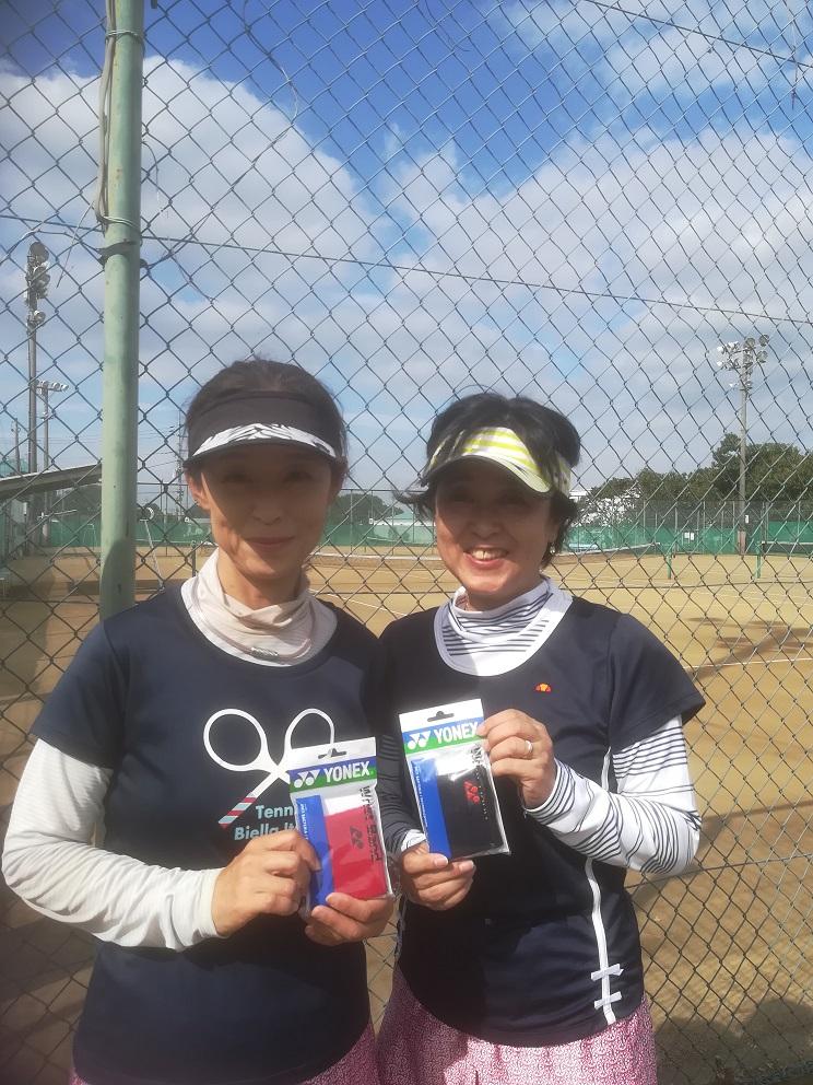 新座市民総合体育大会硬式テニスの部一般女子(中級)コンソレーション
