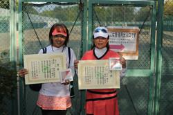 新座市民総合体育大会硬式テニスの部女子(over40)
