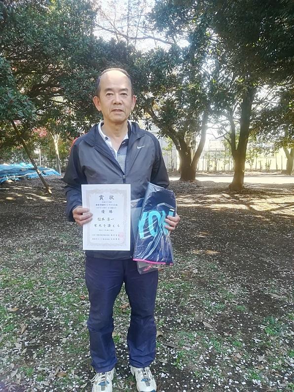 春季シングルス大会 男子OVER65