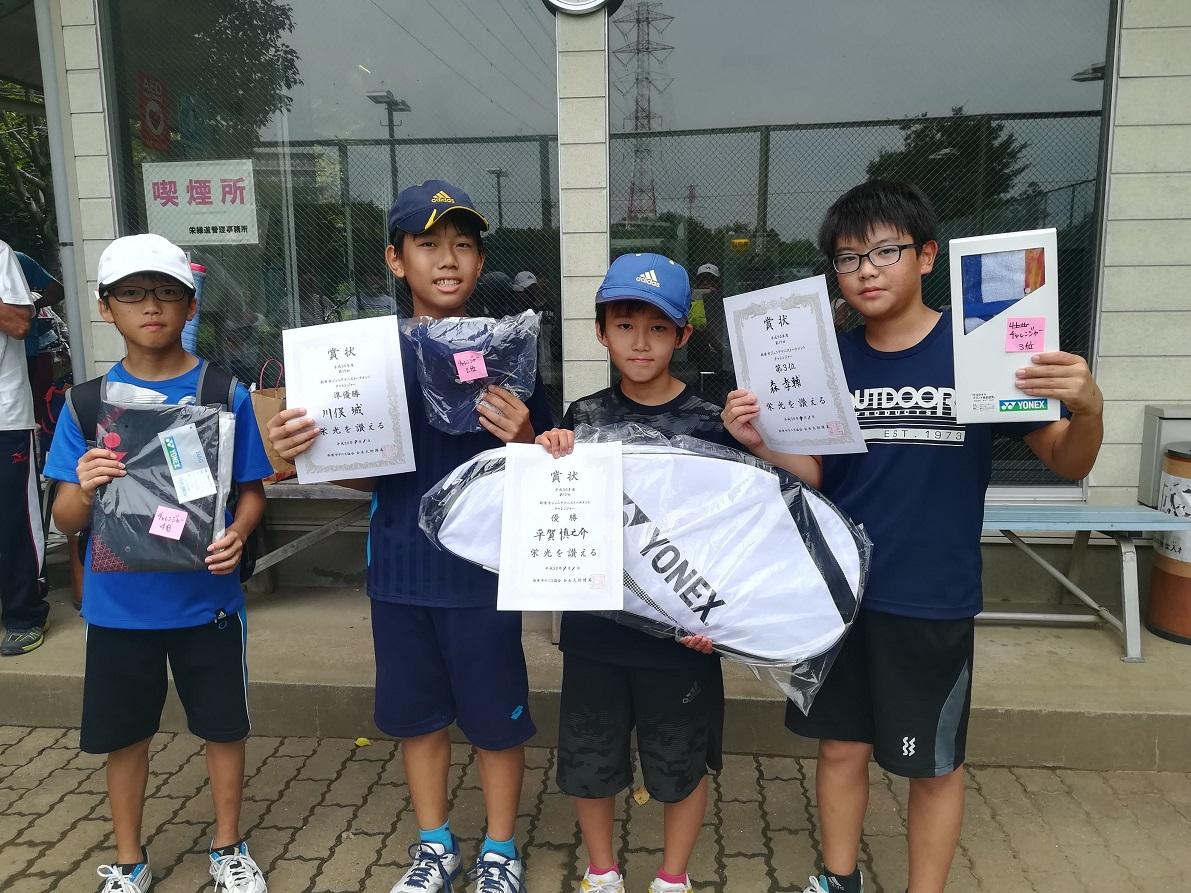 ジュニアテニストーナメント(小学生の部)