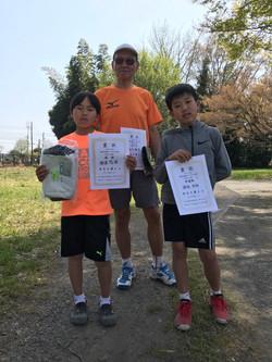 春季シングルス 一般男子初級