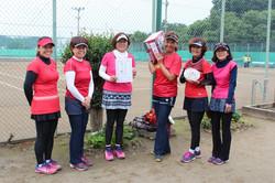 新座市テニス団体戦 女子の部