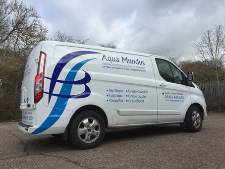 Corporate but Creative Vehicle Graphics