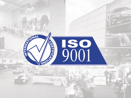 Officially ISO:9001 Certified