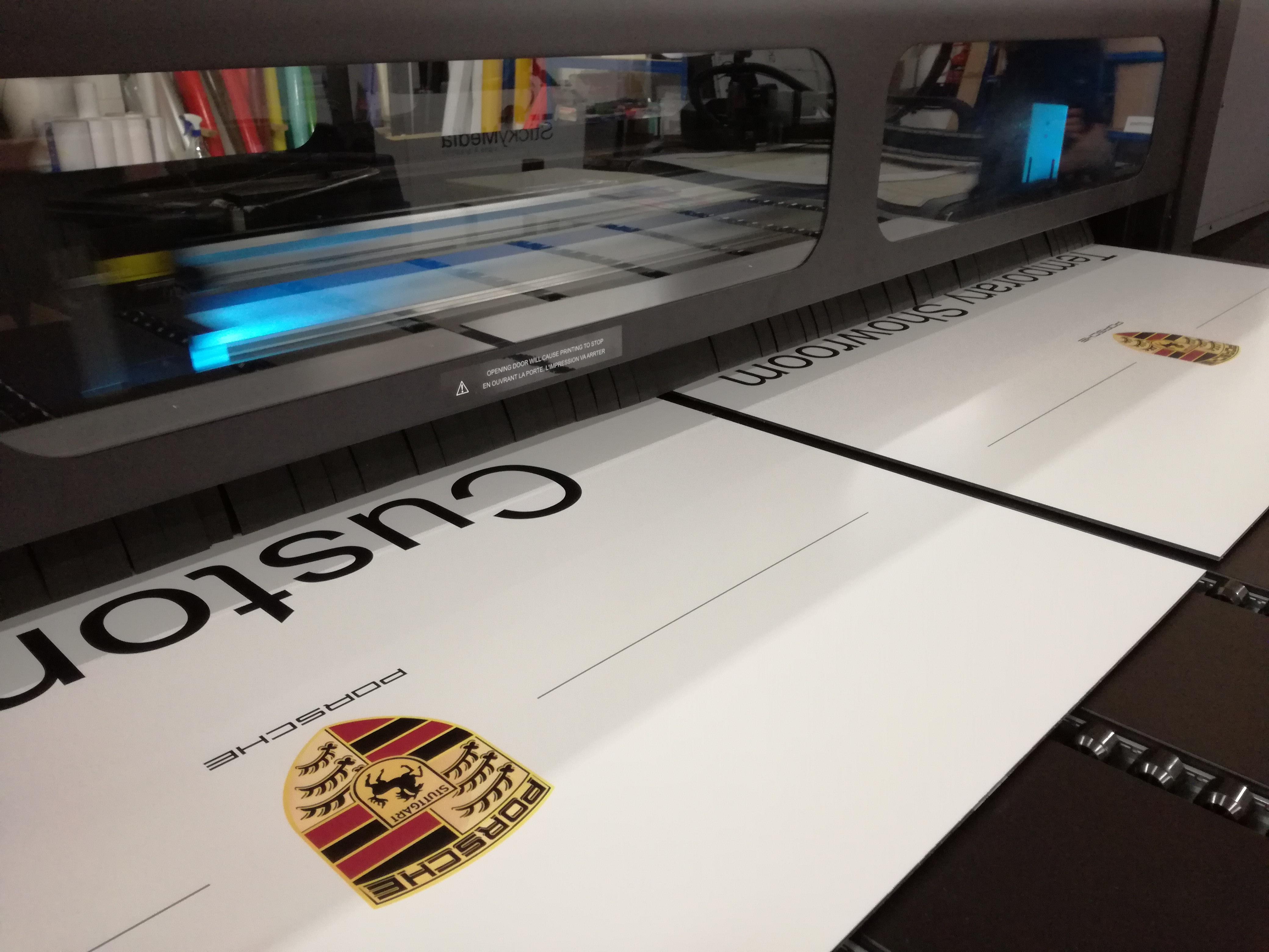 Porsche Direct to Board Print