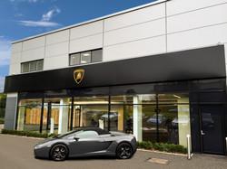 Lamborghini External Display Sign