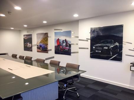 Stunning Wall Displays and Interior Refurbishments
