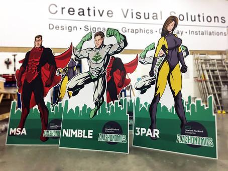 Super Heroes, Super Print!