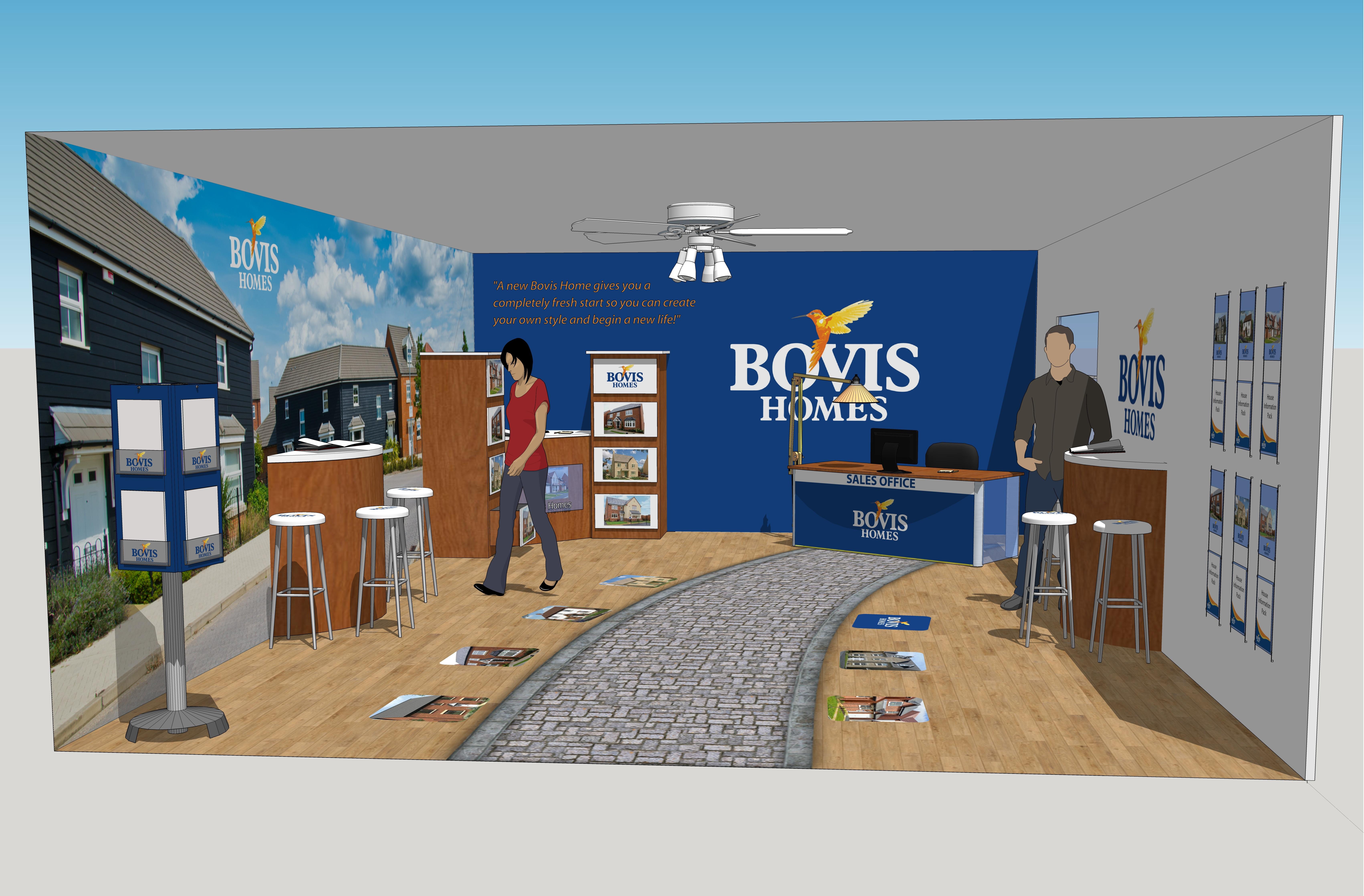 Bovis Homes Interior Print