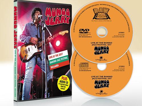 Mungo Jerry - Live at Bansko DVD plus Audio CD