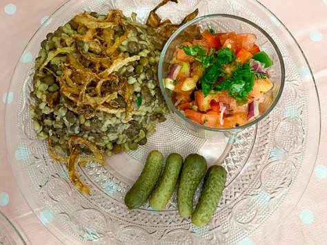 Food stories: Mujadara