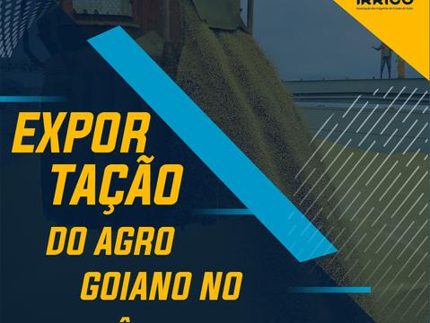 Setor agropecuário é responsável por 82,8% do total de exportações em Goiás no mês de março