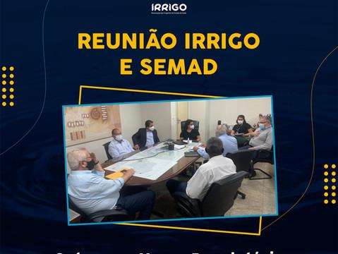 Presidente da IRRIGO se reúne com secretária de Meio-Ambiente para tratar de irrigação em Goiás