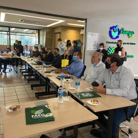 IRRIGO participa de reunião na Faeg para falar sobre questões ambientais