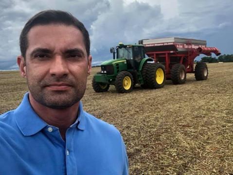 O agrônomo Tiago Mendonça é o novo secretário de Agricultura de Goiás