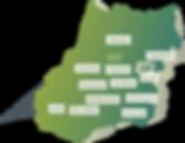 IRRIGO - Núcleos da Associação em cada Cidade