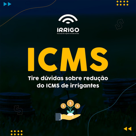 Redução no ICMS do irrigante: Veja como tirar dúvidas com advogado para solicitar o desconto