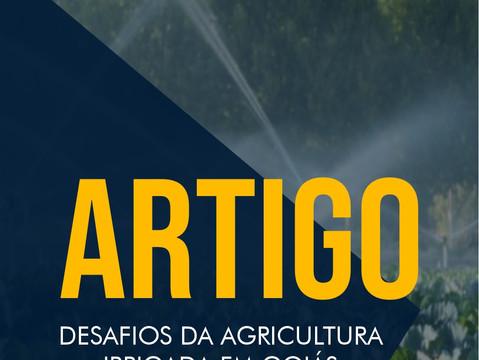ARTIGO: Desafios da agricultura irrigada em Goiás