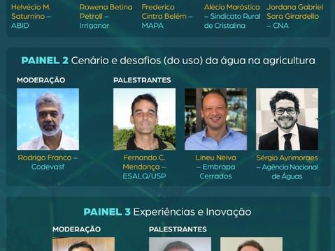 Agro Hoje: 1ª edição do evento online aborda palestras sobre importância da água