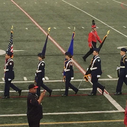 Veterans Ceremony Color Guard