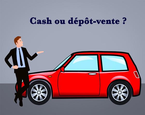 l'agence automobile rachat cash ou dépôt vente ?